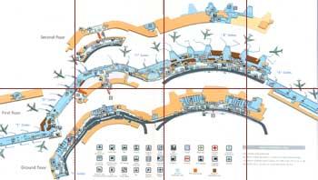 Mapa Aeropuerto de Barajas